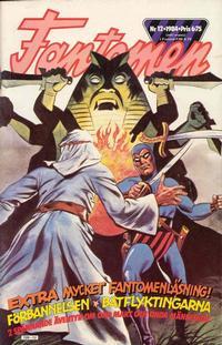 Cover Thumbnail for Fantomen (Semic, 1963 series) #12/1984