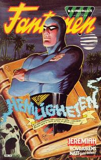 Cover for Fantomen (Semic, 1963 series) #16/1984