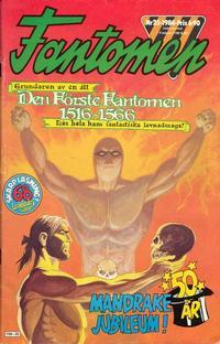 Cover Thumbnail for Fantomen (Semic, 1963 series) #25/1984
