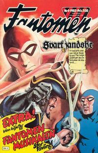 Cover Thumbnail for Fantomen (Semic, 1963 series) #4/1985