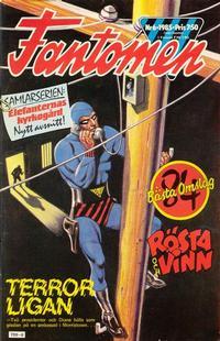 Cover for Fantomen (Semic, 1963 series) #6/1985