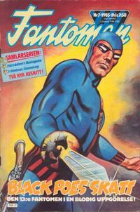 Cover Thumbnail for Fantomen (Semic, 1963 series) #7/1985