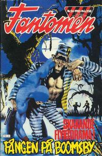 Cover Thumbnail for Fantomen (Semic, 1963 series) #24/1985