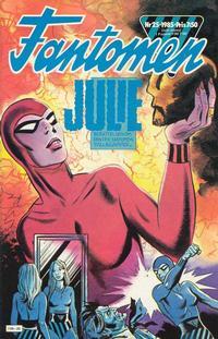 Cover Thumbnail for Fantomen (Semic, 1963 series) #25/1985