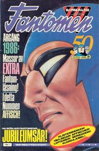 Cover Thumbnail for Fantomen (Semic, 1963 series) #1/1986