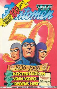 Cover Thumbnail for Fantomen (Semic, 1963 series) #4/1986