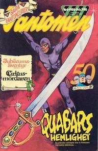 Cover Thumbnail for Fantomen (Semic, 1963 series) #6/1986