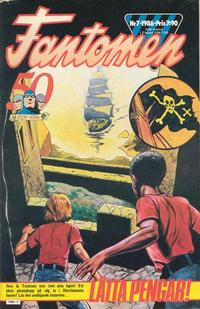 Cover Thumbnail for Fantomen (Semic, 1963 series) #7/1986