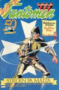 Cover Thumbnail for Fantomen (Semic, 1963 series) #10/1986