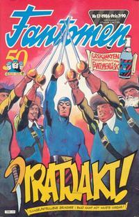 Cover Thumbnail for Fantomen (Semic, 1963 series) #17/1986