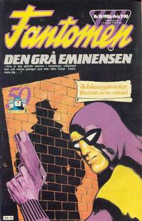 Cover Thumbnail for Fantomen (Semic, 1963 series) #18/1986