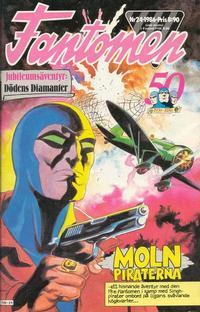 Cover Thumbnail for Fantomen (Semic, 1963 series) #24/1986