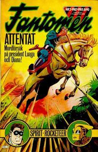 Cover Thumbnail for Fantomen (Semic, 1963 series) #2/1987