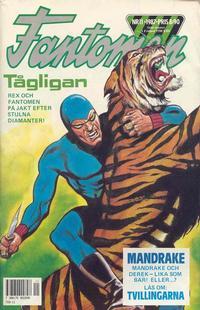 Cover Thumbnail for Fantomen (Semic, 1963 series) #11/1987