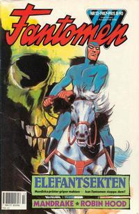 Cover Thumbnail for Fantomen (Semic, 1963 series) #13/1987