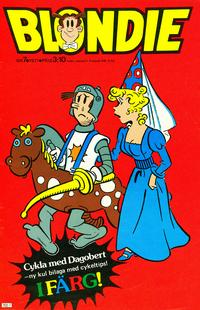 Cover Thumbnail for Blondie (Semic, 1963 series) #7/1977