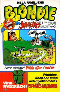 Cover Thumbnail for Blondie (Semic, 1963 series) #5/1980