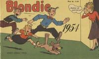 Cover Thumbnail for Blondie [julalbum] (Hemmets Journal, 1941 series) #1954