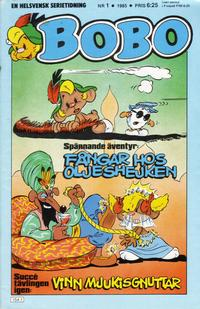 Cover for Bobo (Semic, 1978 series) #1/1985
