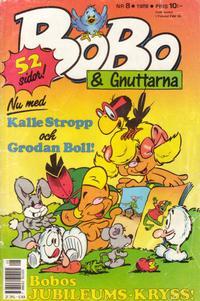 Cover Thumbnail for Bobo (Semic, 1978 series) #8/1988