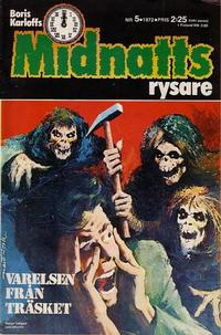 Cover Thumbnail for Boris Karloffs midnattsrysare (Semic, 1972 series) #5/1972