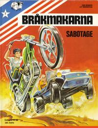 Cover Thumbnail for Bråkmakarna (Winthers, 1980 series) #2 - Sabotage