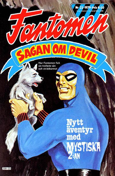 Cover for Fantomen (Semic, 1963 series) #23/1979