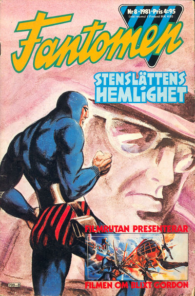 Cover for Fantomen (Semic, 1963 series) #8/1981