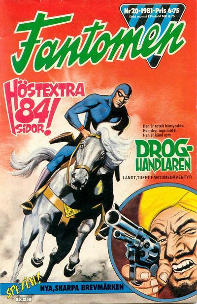 Cover for Fantomen (Semic, 1963 series) #20/1981