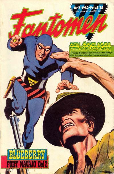 Cover for Fantomen (Semic, 1963 series) #2/1982
