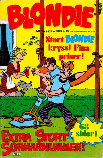 Cover for Blondie (Semic, 1963 series) #9/1978