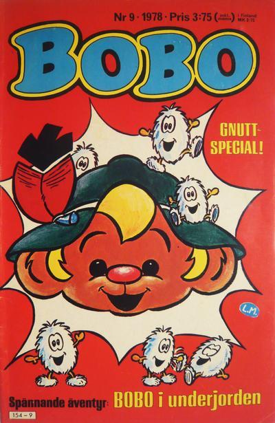 Cover for Bobo (Semic, 1978 series) #9/1978