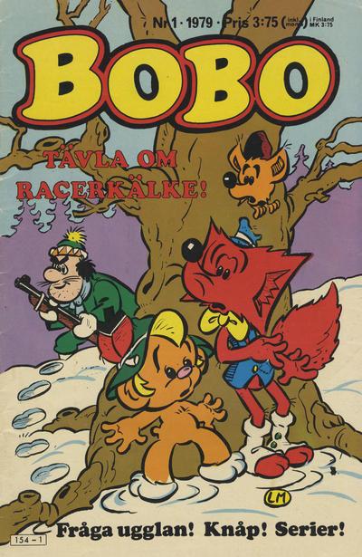 Cover for Bobo (Semic, 1978 series) #1/1979