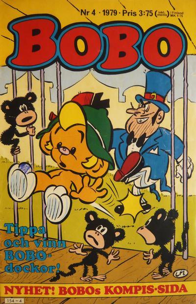 Cover for Bobo (Semic, 1978 series) #4/1979