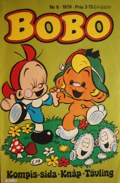 Cover for Bobo (Semic, 1978 series) #6/1979