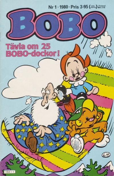 Cover for Bobo (Semic, 1978 series) #1/1980