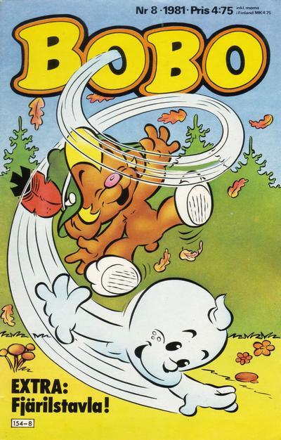 Cover for Bobo (Semic, 1978 series) #8/1981