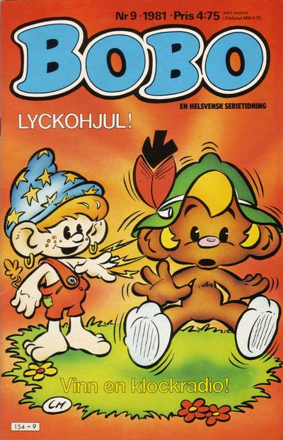 Cover for Bobo (Semic, 1978 series) #9/1981