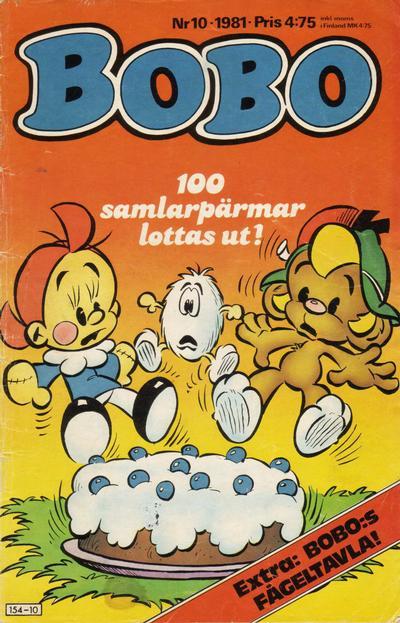 Cover for Bobo (Semic, 1978 series) #10/1981