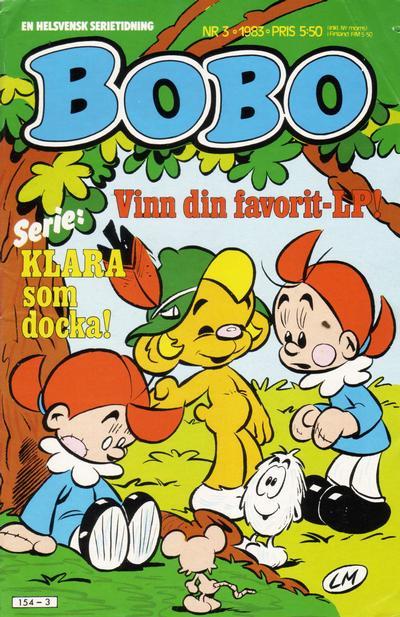 Cover for Bobo (Semic, 1978 series) #3/1983