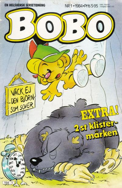 Cover for Bobo (Semic, 1978 series) #1/1984