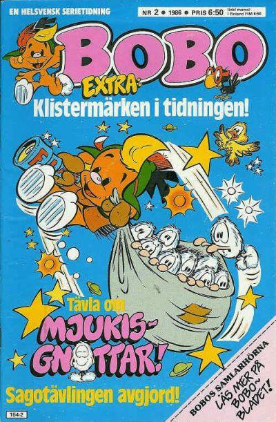 Cover for Bobo (Semic, 1978 series) #2/1986