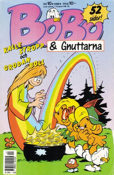 Cover for Bobo (Semic, 1978 series) #10/1988