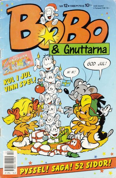 Cover for Bobo (Semic, 1978 series) #12/1988