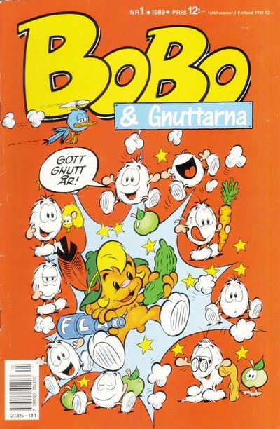 Cover for Bobo (Semic, 1978 series) #1/1989