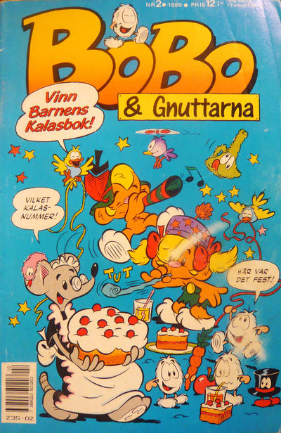 Cover for Bobo (Semic, 1978 series) #2/1989