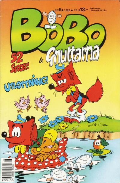 Cover for Bobo (Semic, 1978 series) #6/1989