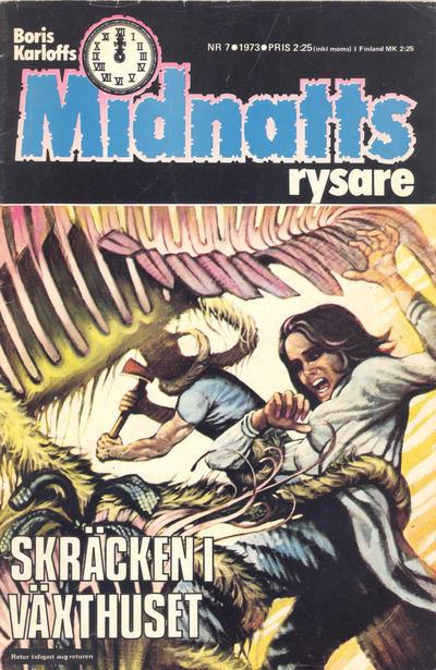 Cover for Boris Karloffs midnattsrysare (Semic, 1972 series) #7/1973