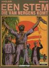 Cover for Een stem die van nergens komt (Casterman, 1985 series)
