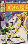 Cover for Dazzler (Marvel, 1981 series) #14 [Direct Edition]
